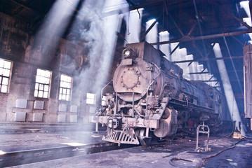 静静的蒸汽机车
