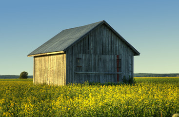 Finnish country barn