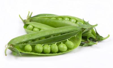 ripe green peas