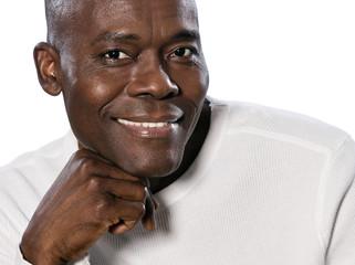 Close-up portrait of man smiling