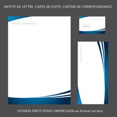 Tete De Lettre A4 Carte Visite Carton Correspondance