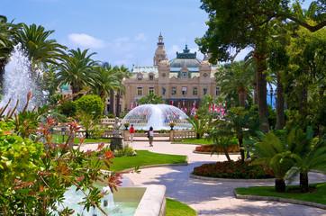 Impeccable garden in Monaco