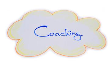 Schriftzug Coaching