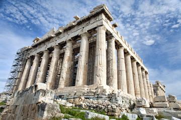Renovation of Parthenon in Athens