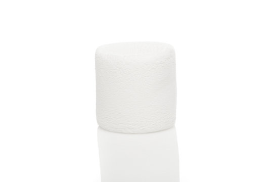 A large white marshmallow