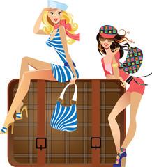 young traveler girls