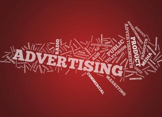 """Word Cloud """"Advertising"""""""