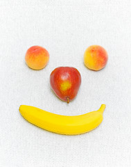 smiling smiley fruit