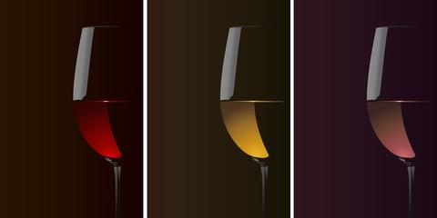 Verres Vins_Fond Noir