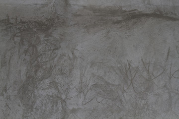 High resolution gray plaster wall texture with brush details