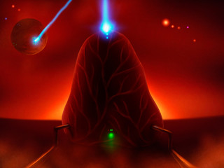 sci-fi extraterrestrial energy transfer technology