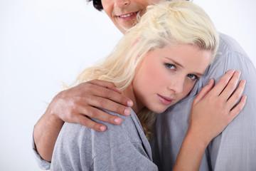 blonde needs comfort