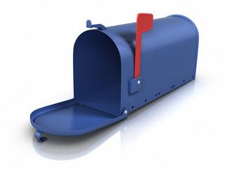 Opened mailbox