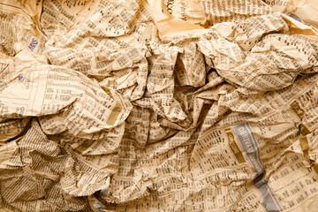 In de dag Kranten fondo di giornale