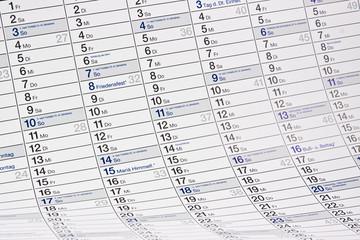 Kalender Hintergrund
