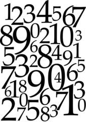 Fondo de números