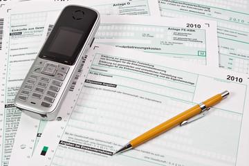 Die Steuererklärung abgeben