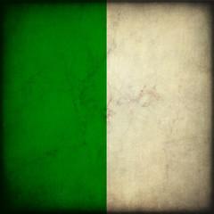 Bandiera dell'Algeria in stile vintage