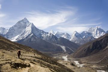 Nepalese landscape, Amadablam