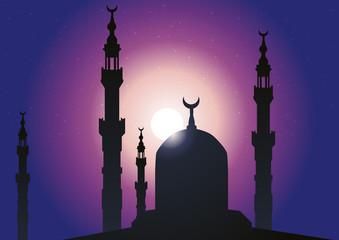 Minarets Mosquée