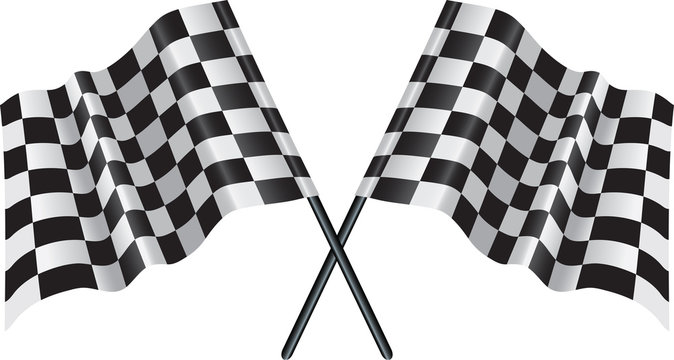 motor racing checkered, chequered flag