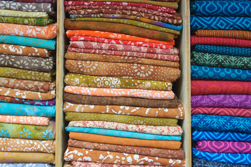 Indian Fabric for Sale at Market