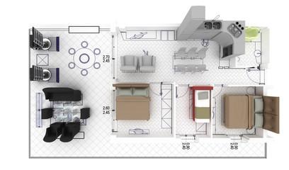 apartment render 4