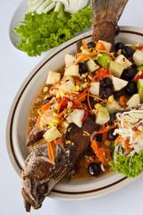 Thai  healthy food