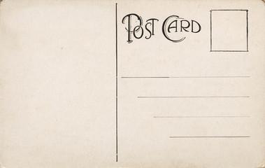 Early 1900 Blank Postcard