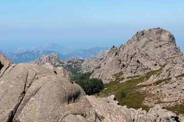 Sardinia, Italy: peak of Limbara Mountain