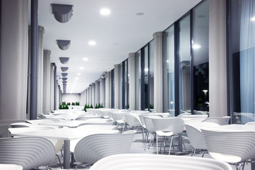 Photo of modern restaurant
