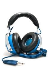 Blue Stereo Headphones