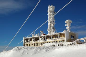 snowy transmitter