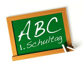 ABC Erster Schultag