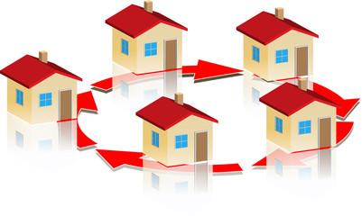 small_house_round_arrow