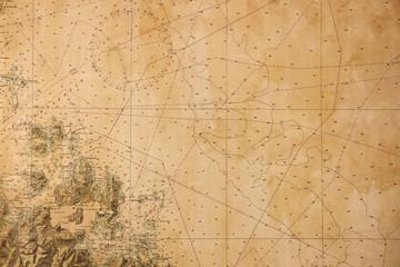 Costa Smeralda Carta Nautica
