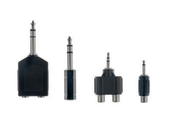 Audio plug adaptors