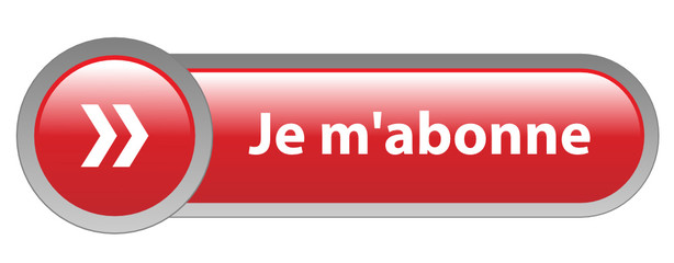 Bouton Web JE M'ABONNE (s'abonner abonnement inscription rouge)