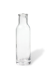 Transparent Bottle with a shadow