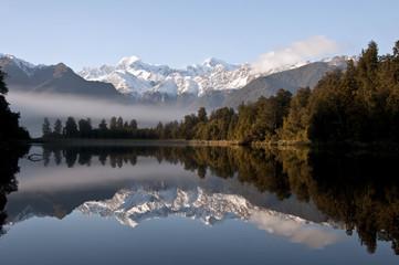 Keuken foto achterwand Nieuw Zeeland Lake Matheson ,South Island, New Zealand