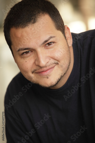Handsome latino