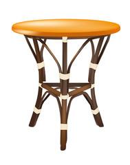 tavolino in  bambù