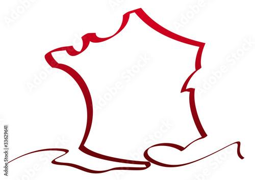 dessin france ruban rouge photo libre de droits sur la banque d 39 images image. Black Bedroom Furniture Sets. Home Design Ideas