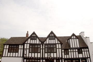 Tudor Half Timbered Buildings