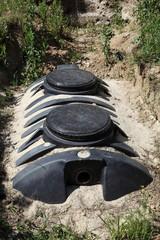 Private Sewage Septic Tank Vertical