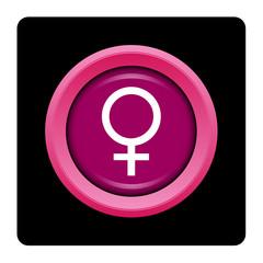 Internet, bouton, logo, picto, femme, sexe, féminin, hormone