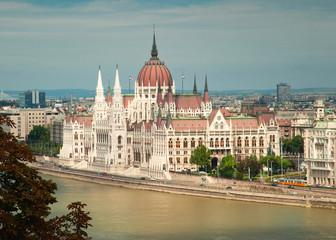 Fotobehang Boedapest Nice view on Budapest, Hungary