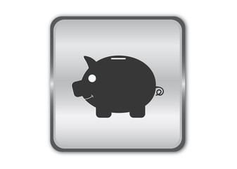 Piggy bank - Vector illustration
