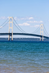 Wall Mural - mackinaw bridge