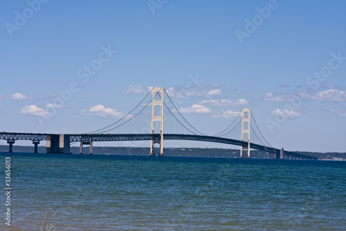 Wall mural mackinaw bridge